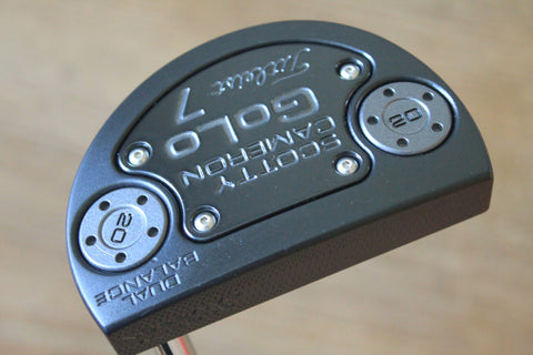 Scotty Cameron Dual Balance Golo 7 Black Custom Putter