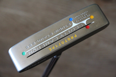 Scotty Cameron Newport 2 Beach Center Shaft Prototype Putter