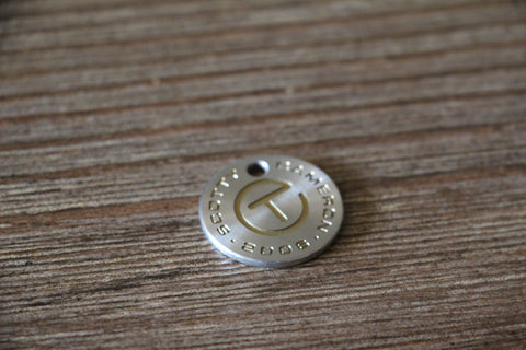 2006 Circle T Coin Ball Marker