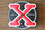 Scotty Cameron Vintage Red X Wall Clock