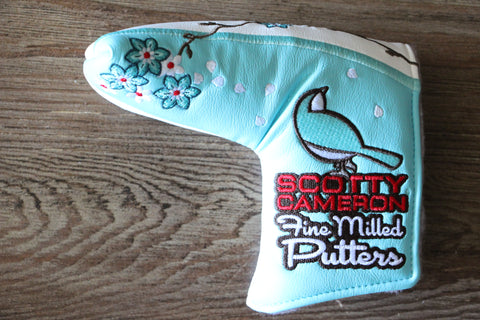 Scotty Cameron Japan Only Tiffany Cherry Blossom Headcover