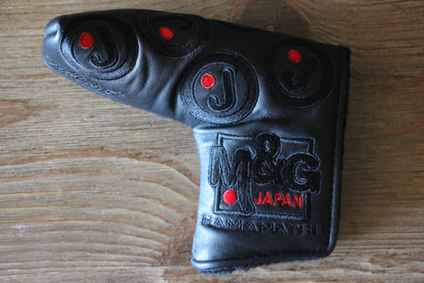 Circle J Black on Black Studio Hamamatsu Japan Headcover
