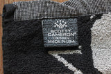 Scotty Cameron Black and Silver 7 Point Crown Towel