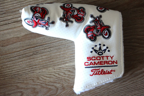 2009 British Open Scooter Scotty Dog White Special Headcover