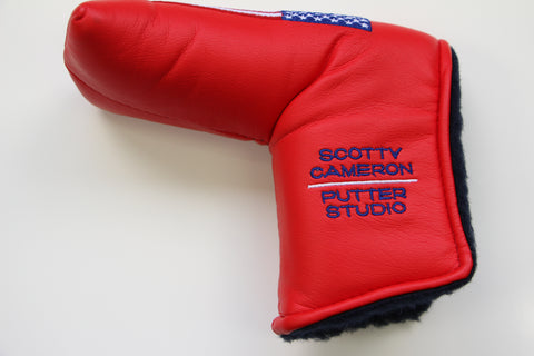 Scotty Cameron 2002 Red Large USA Flag Headcover