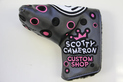 Scotty Cameron Pink Jackpot Johnny Gallery Mid Mallet Headcover