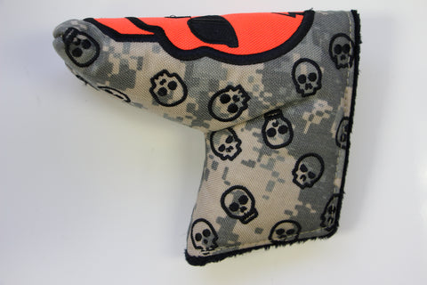 SWAG Golf Camo Skull Headcover