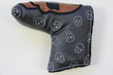 SWAG Golf Carbon Skull Headcover