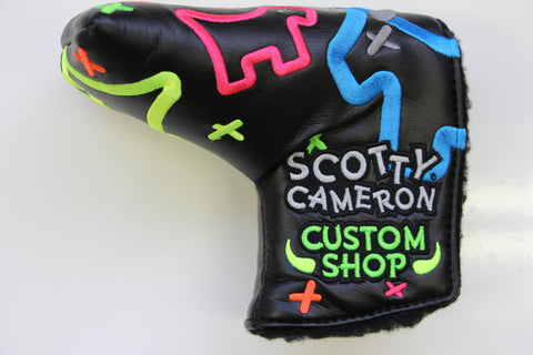 Scotty Cameron Neon Junk Yard Dog Gallery Mid Mallet Headcover
