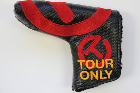 Circle T Black Red Industrial Tour Only Headcover