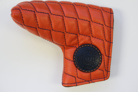 Tyson Lamb Orange Quilted Headcover