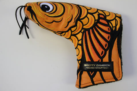 Scotty Cameron Gallery Orange Koi Fish Headcover