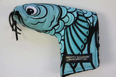 Scotty Cameron Gallery Tiffany Koi Fish Headcover