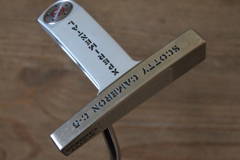 Scotty Cameron C-5 Xperimental Circle T Tour Putter
