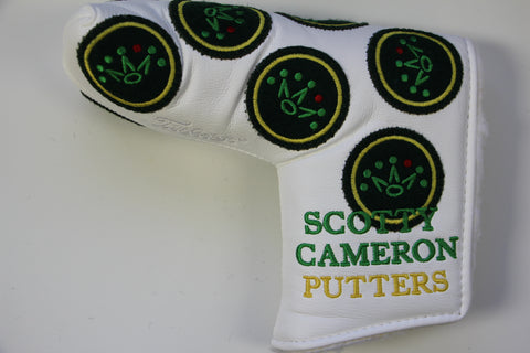 2012 White Masters Dancing Crowns Headcover