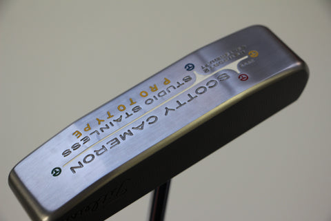 Scotty Cameron Circle T Newport 2 Centershaft Prototype Sergio Garcia Putter