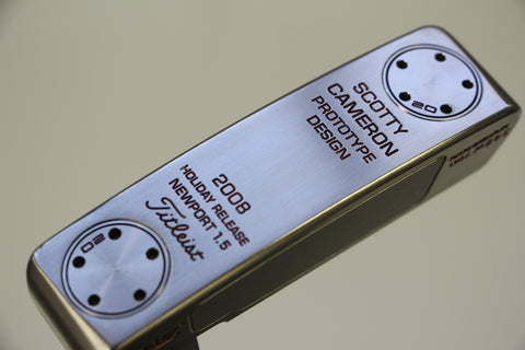 Scotty Cameron 2008 Holiday Newport 1.5 Prototype Putter