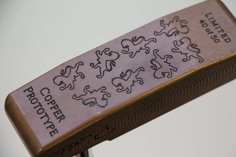 Piretti Copper Prototype Putter