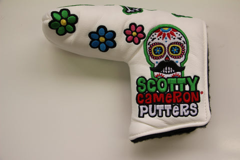 Scotty Cameron Mexican Open Sugar Skull Headcover