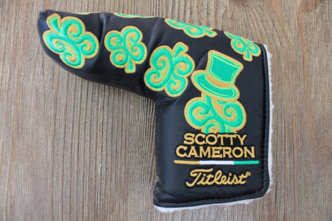 2011 St. Patrick's Day Black Headcover