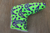 Lime Green Crowns Gallery Headcover