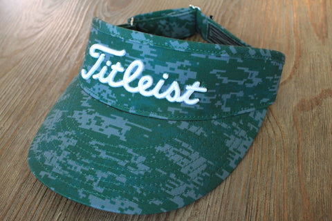 Scotty Cameron Camo Tour Visor Green