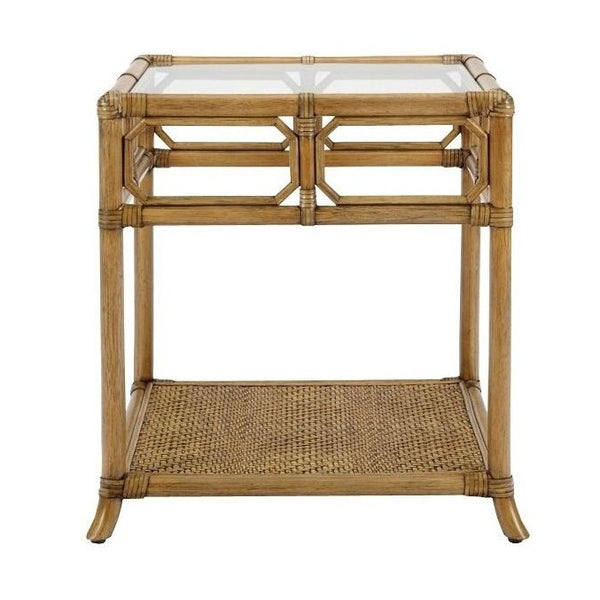 20206 Rattan Side Table