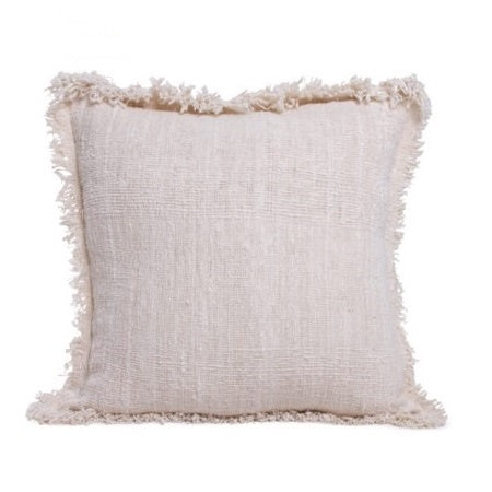 20226 Natural Organic Raw Cotton Cushion Cover 55x55