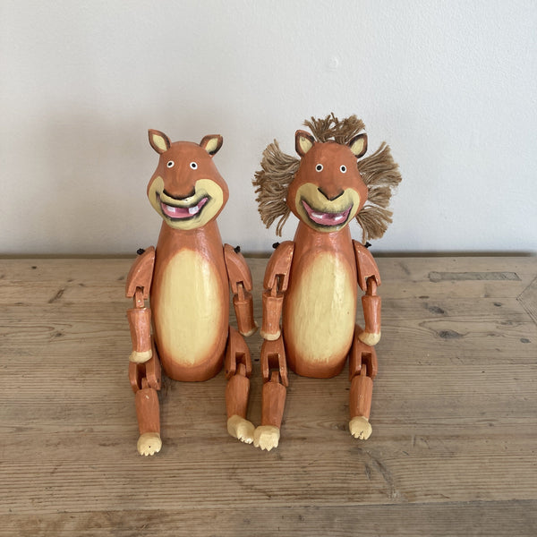 Wooden Animal - LION