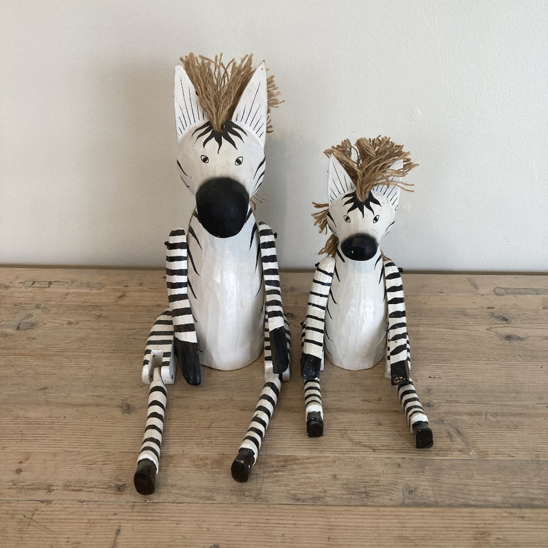 Wooden Animal - ZEBRA