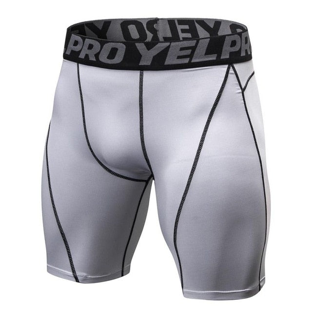 MEN'S FITNESS  COMPRESSION GYM SHORTS
