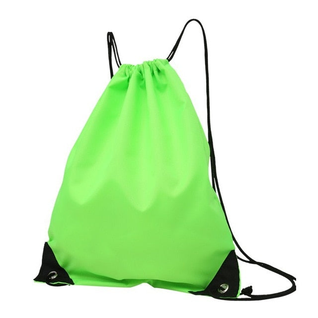 Fitness Bag Waterproof Foldable Drawstring Backpack