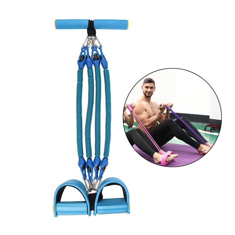 Elastic Pull Rope Exerciser Tension Resistance Bands