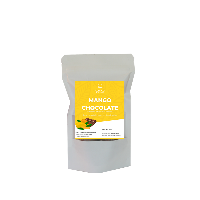 Cacao Culture - Chocolate Covered Mango Strips 100G