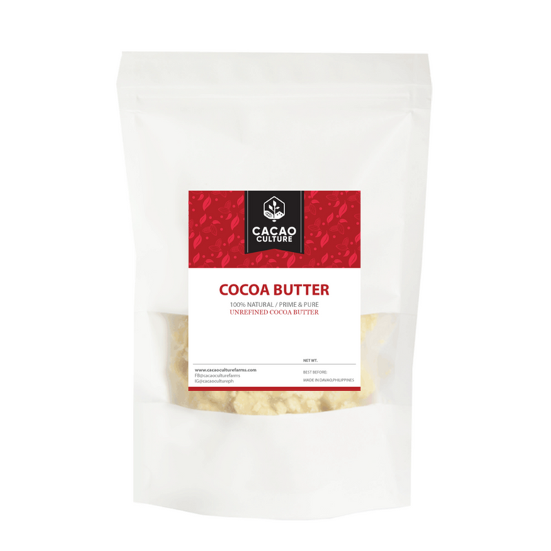 Cacao Culture - Cocoa Butter Chunks (Pure and Unrefined) 100G