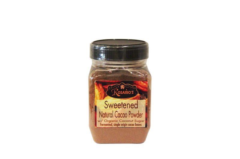 Rosario's Delicacies - Sweetened Cacao Powder w/Coconut Sugar 150g