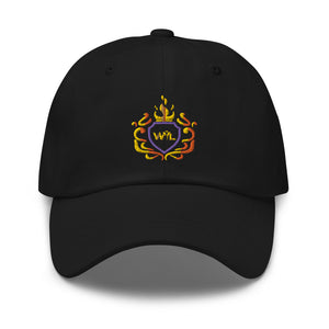 Open image in slideshow, WYL Fire Crest Dad Hat