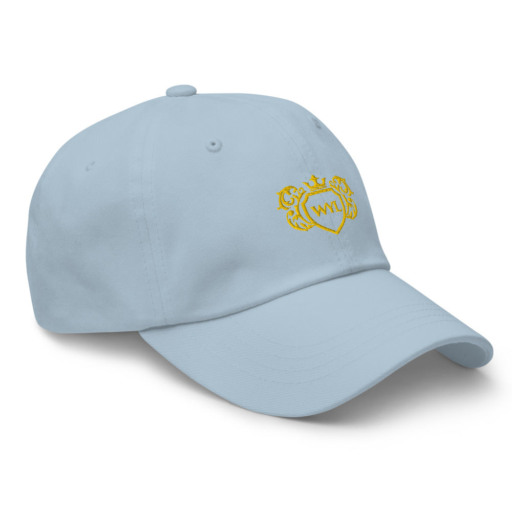 WYL Gold Crest Dad Hat