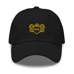 Open image in slideshow, WYL Gold Crest Dad Hat