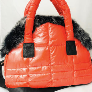 Mini Duffle Puffer Bag