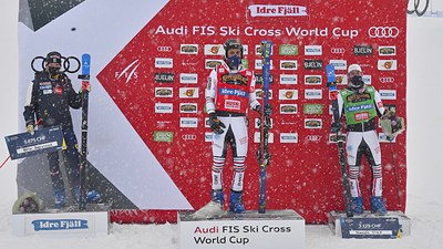 A DOUBLE ON THE PODIUM AT IDRE FJÄLL!