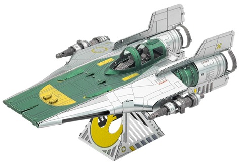 Metal Earth Star Wars Resistance A Wing Fighter Model Kit