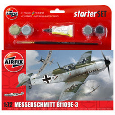 Airfix Starter SET 1:72 Messerschmitt Bf109E-3 kit