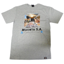T Shirt Moonta SA Australia Little Cornwall Grey