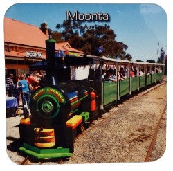 Coaster Moonta mines Train South Australia