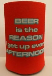 Beer Is the Reason Stubby Holder