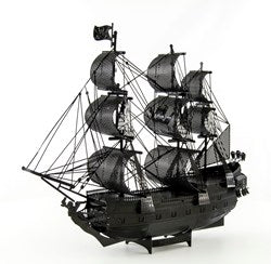 Iconx Black Pearl Black Version Metal Earth Model Kit