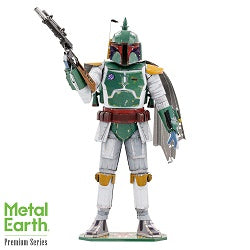 Iconx Star Wars Boba Fett Metal Earth  model Kit