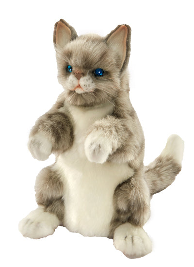 Grey Cat Hansa Hand Glove puppet