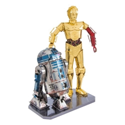 Metal Earth Star Wars R2-D2 & C3PO Gift Box Set